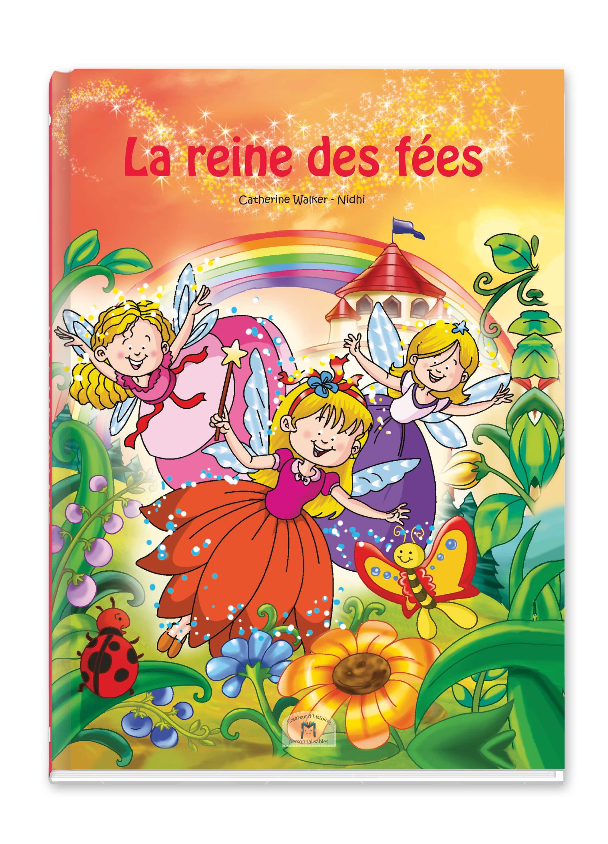 Livre De Fees A Son Prenom A Offrir Aux Enfants Entre 2 Et 8 Ans