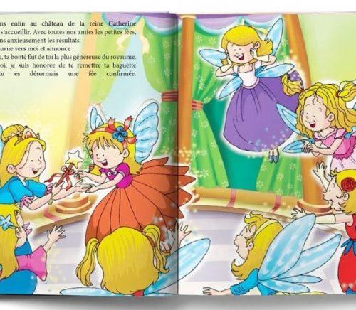 livre de fées à son prénom extrait