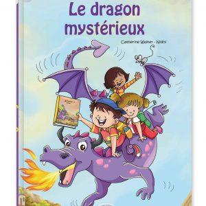 livre personnalisé pour enfant dragon recto