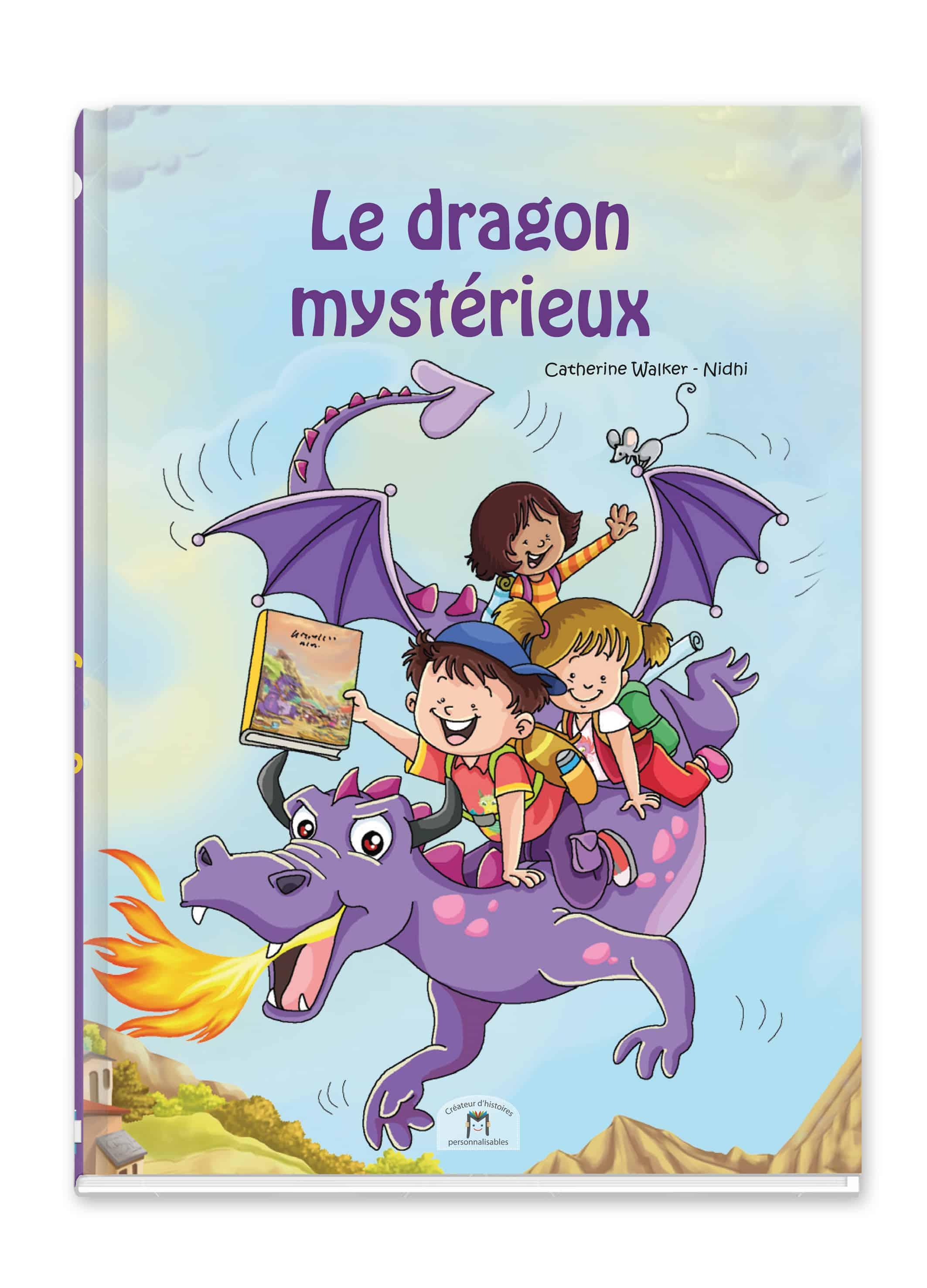 Livre Personnalise Pour Enfant Le Dragon Mysterieux 2 8 Ans