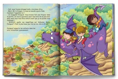 extrait livre personnalisé pour enfants