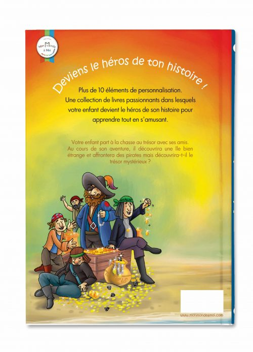 livre enfant sur les pirates verso