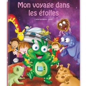 livre personnalisable enfant extraterrestre étoiles