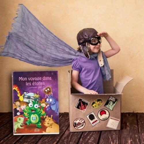 livre personnalisable enfant héros