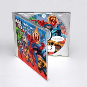 cd spiderman MARVEL