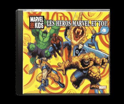 cd audio Marvel