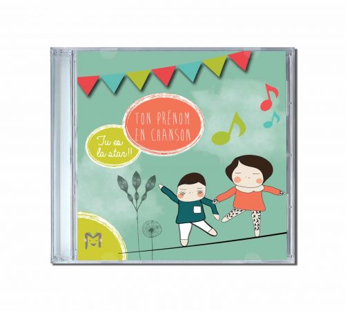 livret de parole de chansons enfantines pour CD
