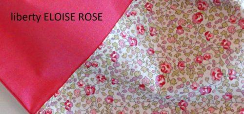TISSU liberty eloise rose