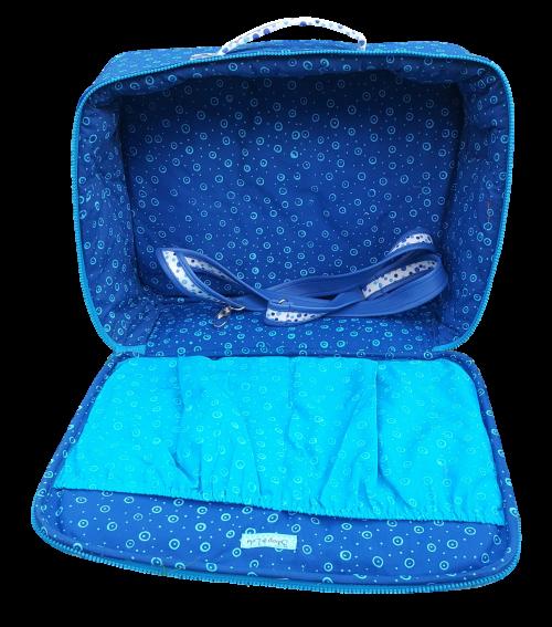 valise cabine pour bébé vue intérieure