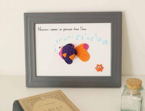 cadre pur chambre bébé