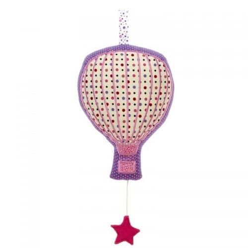 mobile musical montgolfière