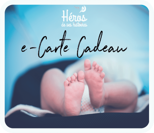 carte cadeau visuel pieds de bébé
