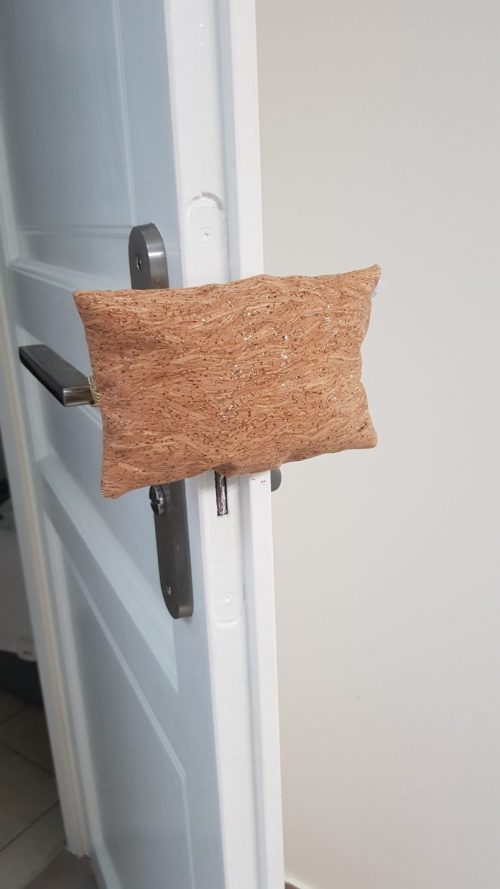 cale porte tissu anti claque porte