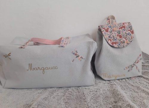 sac de voyage et sac a dos enfant personnalisé